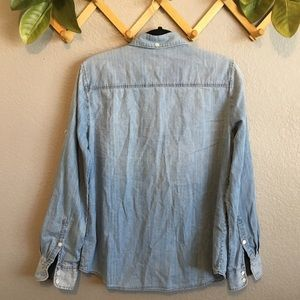 J. Crew Tops - J.Crew Chambray Button Down